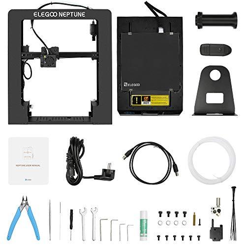 ELEGOO NEPTUNE 3D Drucker FDM 3D Printer Metall Prusa i3 Bauraum 205 x 205 x 200 mm Kompatibel mit TPU/PLA/ABS Filament - 8