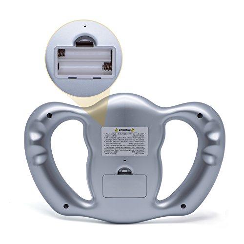 ZUZU BMI-Gesundheitsmonitor Digitaler Handheld-BMI-Monitor LCD-Anzeige Körperfettmessung Gewichtsverlust in Prozent Handheld-lcd-monitor