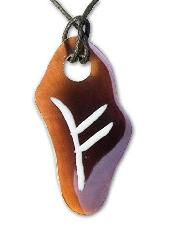 """etNox-ciondolo a forma di """"FEOH-anello"""" conchiglia (K-FM)"""
