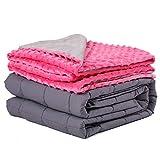 Daverose Schwere Decke für Kinder 3.2 kg 97 * 158cm Therapiedecke Kinder mit abnehmbare Bezug...