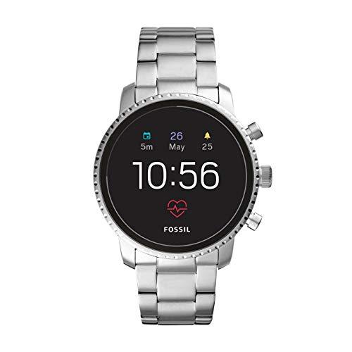 Fossil Herren Digital Smart Watch Armbanduhr mit Edelstahl Armband FTW4011 (Digital Uhr Fossil Herren)