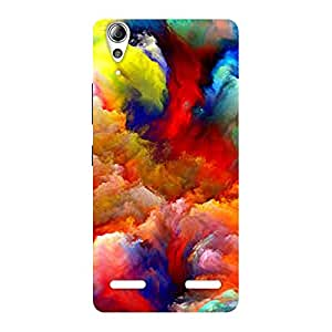 Neo World Colours Back Case Cover for Lenovo A6000 Plus