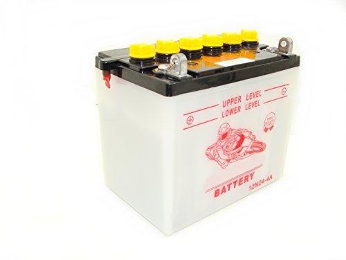 Preisvergleich Produktbild Batterie 12N24-4A für Aufsitzmäher Lieferung ohne Säure