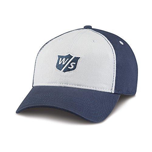 Wilson Staff Relaxed Cap Herren blau/weiß (Wilson Visor)