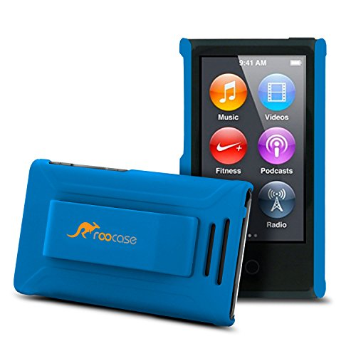 roocase-ultra-slim-matte-blue-shell-case-for-apple-ipod-nano-7-7th-generation