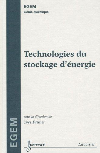 Technologies du stockage d'énergie