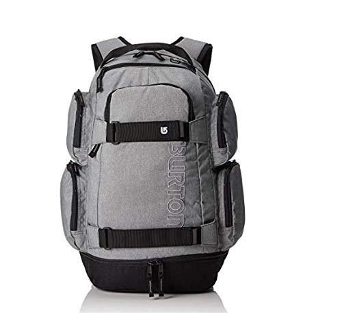 Burton zaino distortion pack grigio gray heather 30l scuola escursione montagna + omaggio penna + omaggio segnalibro