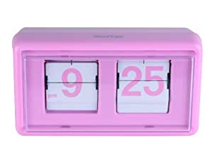 Wanted WA0587PI Flip Clock Back 2 School pink