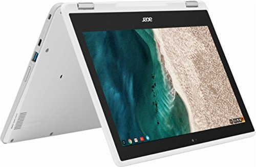 Acer 2017 R11 11.6-inch Convertible 2-in-1 HD IPS Touchscreen Chromebook (Intel Quad-Core Celeron N3160 1.6GHz, 4GB RAM, 32GB SSD, White)