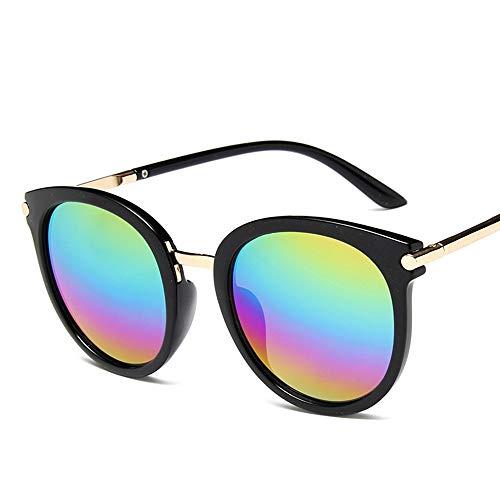 LAMAMAG Sonnenbrille Runde Sonnenbrille Frauen Cat Eye Retro Leichte Sonnenbrille Spiegel Sonnenbrille Weibliche Zonnebril Dames Uv400,2