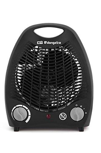 Orbegozo FH 5129 Calefactor Compacto, 2 Niveles de Potencia, 3 Modos de Funcionamiento, Termostato Regulable...