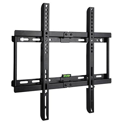 Preisvergleich Produktbild BPS Ultra Slim Flach Wandhalter TV Wandhalterung universell passend für alle TV und Monitor Hersteller 58cm-140cm23-55 inch, VESA/ Lochabstand 100 x100-400x400, Kapazität 95kg, Wandabstand nur 3,5cm