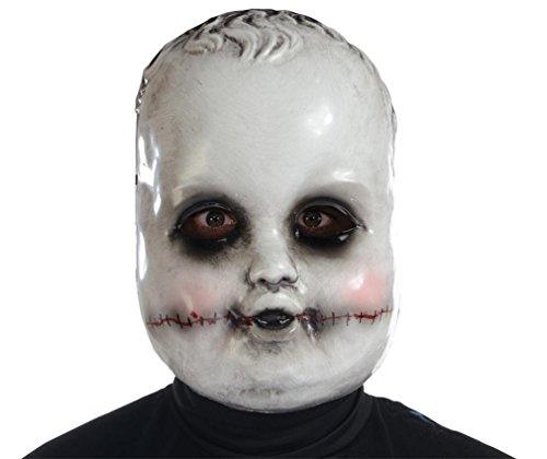 Maske DREADFUL DOLLS SMILING (Doll Masken)