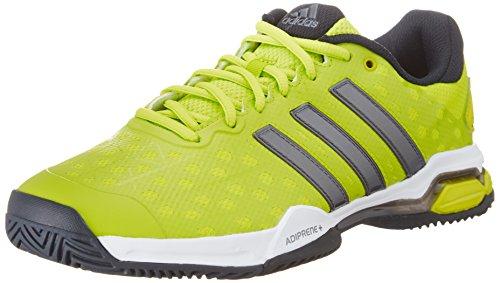 adidas Performance Herren Barricade Club Tennisschuhe, Gelb (Semi Solar Lime S16/Night Met. F13/Core Black), 45 1/3 EU