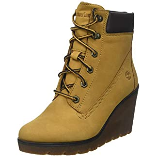 Timberland Women's Paris Height 6 Inch Lace-up Boots 4