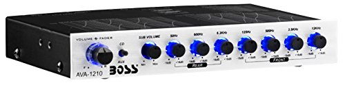 7 Band Preamp Equalizer with Sub...