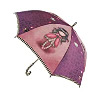 Santoro Gorjuss Automatic Long Umbrella Ladybird Design