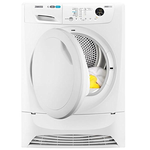 Zanussi ZDH8333P LINDO1000 8kg Load Heat Pump Tumble Dryer Class A+ Sensor White