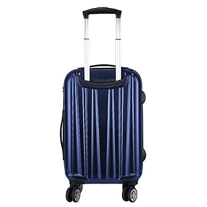 WindTook-Hartschalenkoffer-Handgepck-Hartschale-Trolley-Koffer-Reisekoffer-Zwillingsrollen-Gepck-mit-4-Rollen-und-Zahlenschloss-fr-Damen-und-Herren