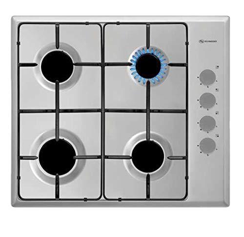 Cocina Gas Placa 4 Fuegos Butano 60 Cm - SCHEINDER - Spg401X