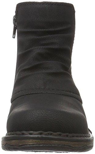Rieker Z9993, Bottes Classiques Femme Noir (Schwarz/00)