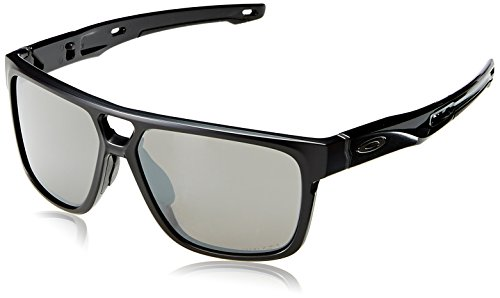 a3ceed31fb Oakley Men s Crossrange Patch Non-Polarized Iridium Rectangular Sunglasses  MATTE BLACK 60.0 mm