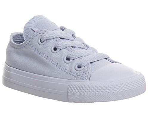 Converse Chuck Taylor All Star Junior Seasonal Ox 15762 Unisex - Kinder Sneaker Porpoise Blue Mono
