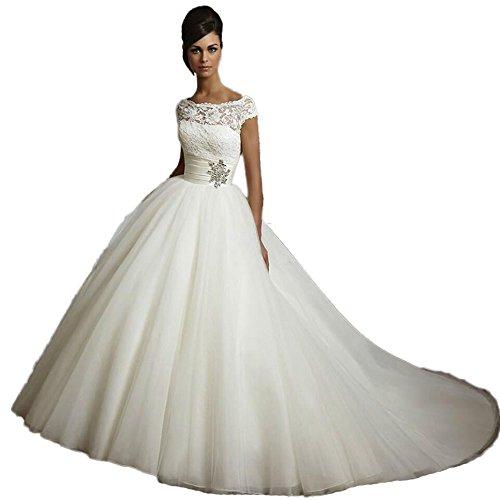 CoCogirls Weiß Tüll Hochzeitskleid Brautkleid Bride Hochzeit Braut Hochzeitskleider Brautkleider...
