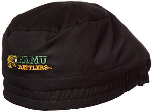 WonderWink Herren Florida A&M University Scrub Cap Kappe, schwarz, Einheitsgröße -