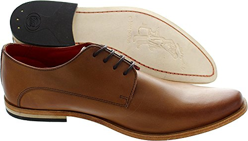 London Base Bas Encolure Tan-derby Homme