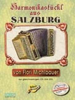 HARMONIKASTUECKL AUS SALZBURG - arrangiert für Steirische Handharmonika - Diat. Handharmonika - (für ein bis zwei Instrumente) - mit CD [Noten / Sheetmusic] Komponist: MICHLBAUER FLORIAN