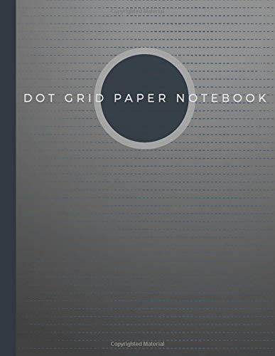 Dot Grid Paper Notebook: Dot Grid Paper Graph Dotted Journal Notebook Large 8.5 x 11 inches - 104 pages (Volumn 38)