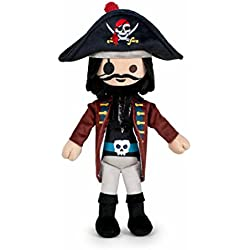 Famosa Softies - Peluche Playmobil 30 cm Capitán Pirata (760015048)