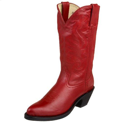 Durango RD4105 Femmes Cuir Santiags red