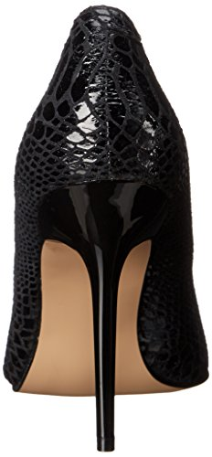 Pleaser Classique-20sp Damen Pumps Schwarz (Schwarz (Blk Snake-Print Leather))