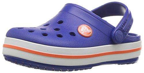 Crocs crocband clog kids sabot unisex - bambini, blu (cerulean blue), 29-30 eu (c12 uk)