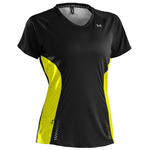 Under Armour Draft (Under Armour UA Damen Draft Catalyst T-Shirt X-Small schwarz - schwarz)