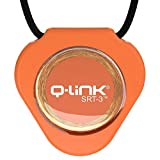 Q-Link Triangle Acrylic - Colgante generador de campos de frecuencias beneficiosas (con tecnología SRT-3) naranja naranja