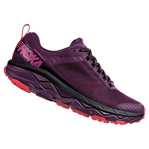Hoka One One Challenger ATR 5 Running Shoes Damen Italian Plum/Poppy red Schuhgröße US 9   EU 41 1/3 2019 Laufsport Schuhe