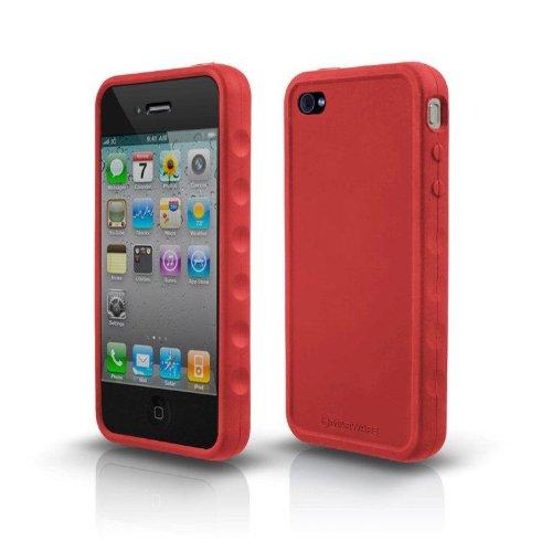 Marware SportGrip Silikonhülle für Apple iPhone 4 rot Marware Sport Grip Für Iphone