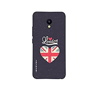 iSweven London design printed matte finish back case cover for Meizu M5
