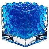 10 Packs Blue Gel Soil Water Beads Bio Gel Aqua Gel Crystals Jelly Crystal Wedding Vase Decoration