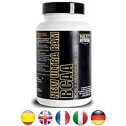 BCAA aminoácidos ramificados | New Ultra RAM 100 Tabletas 135 g | 2.1.1 Informe | mejorado con HMB y arginina AKG | fortalecimiento y la recuperación de la masa muscular | ciclismo - bodybuilding