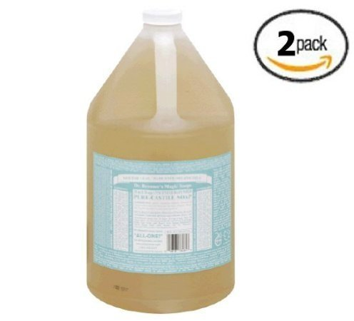castile-liquid-soap-baby-mild-dr-bronners-1-gallon-liquid-2-packs-x-1-gallon-each-by-dr-bronners