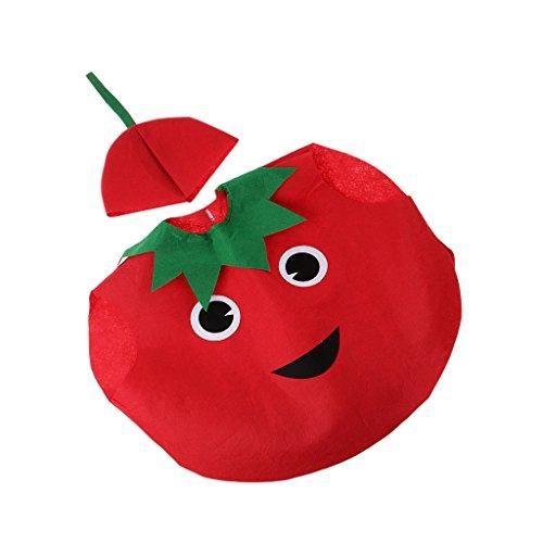 (Homyl Scherzt Kinder Kostüm - Tomate)