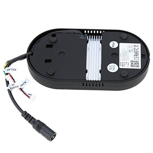 KKMOON CMOS Sensor 135°Glass Lens Door Bell Wifi Video Audio Wireless Waterproof Doorbell RF Bell Receiver WiFi Doorbell Digital Smart 0.3 Megapixel Night Vision WiFi Wireless Video Doorbell Phone Peephole for Home Security Detection