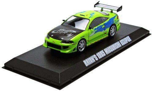 GreenLight Fast and Furious: The Fast and the Furious (2001) 1995 Mitsubishi Eclipse Car (1:43 Scale) by GreenLight TOY (English Manual)