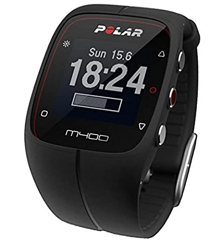 Polar M400 GPS Watch - Black