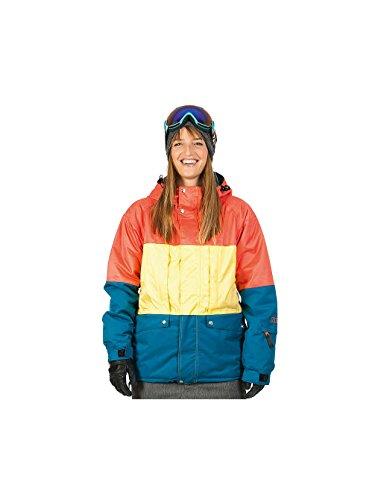Nikita L36106400 XS - Giacca da sci donna, XS, colore: modello nastrutium/limelight