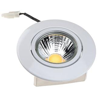 Nobile LED-Einbaustrahler A 5068 T Flat 8 W, rund, weiß-matt, 1856691023